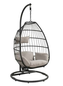 ACME Patio Hanging Chair with Stand - 45115