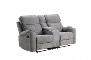 ACME Motion Loveseat w/Console and USB Port - 56901
