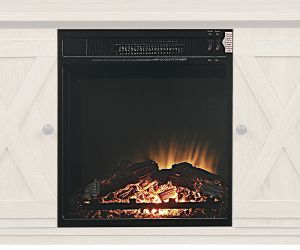 ACME Fireplace - 90649 - - - Electric Fireplace - Black