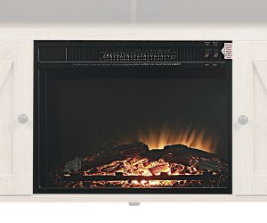 ACME Fireplace - 90650 - - - Electric Fireplace - Black