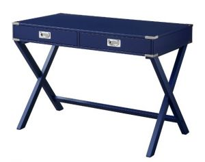 ACME Amenia Writing Desk, Navy Blue Finish - 93008