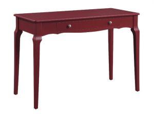 ACME Alsen Writing Desk, Red Finish - 93020
