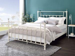 ACME Comet Full Bed, White Finish - BD00133F